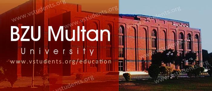 Admissions In Bzu Multan - Resume Examples | Resume Template