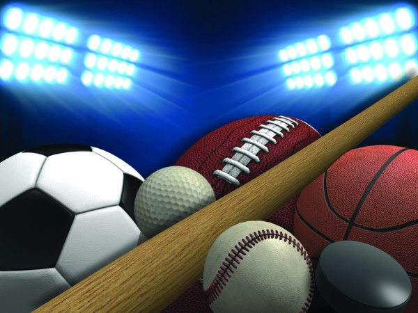 Softball Sports Background