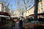 Рынок в городе Экс-ан-Прованс