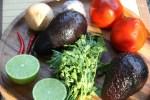 Ингредиенты для Гуакамоле