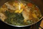 Доминиканский куриный суп санкочо