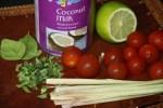 Игредиенты для карри из морепродуктов