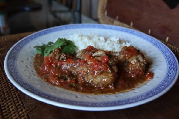 Португальское блюдо Виндалу