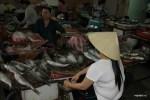 Свежая рыба на рынке в Дананге