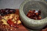 Сухой красный пеерц с кумином и морской солью