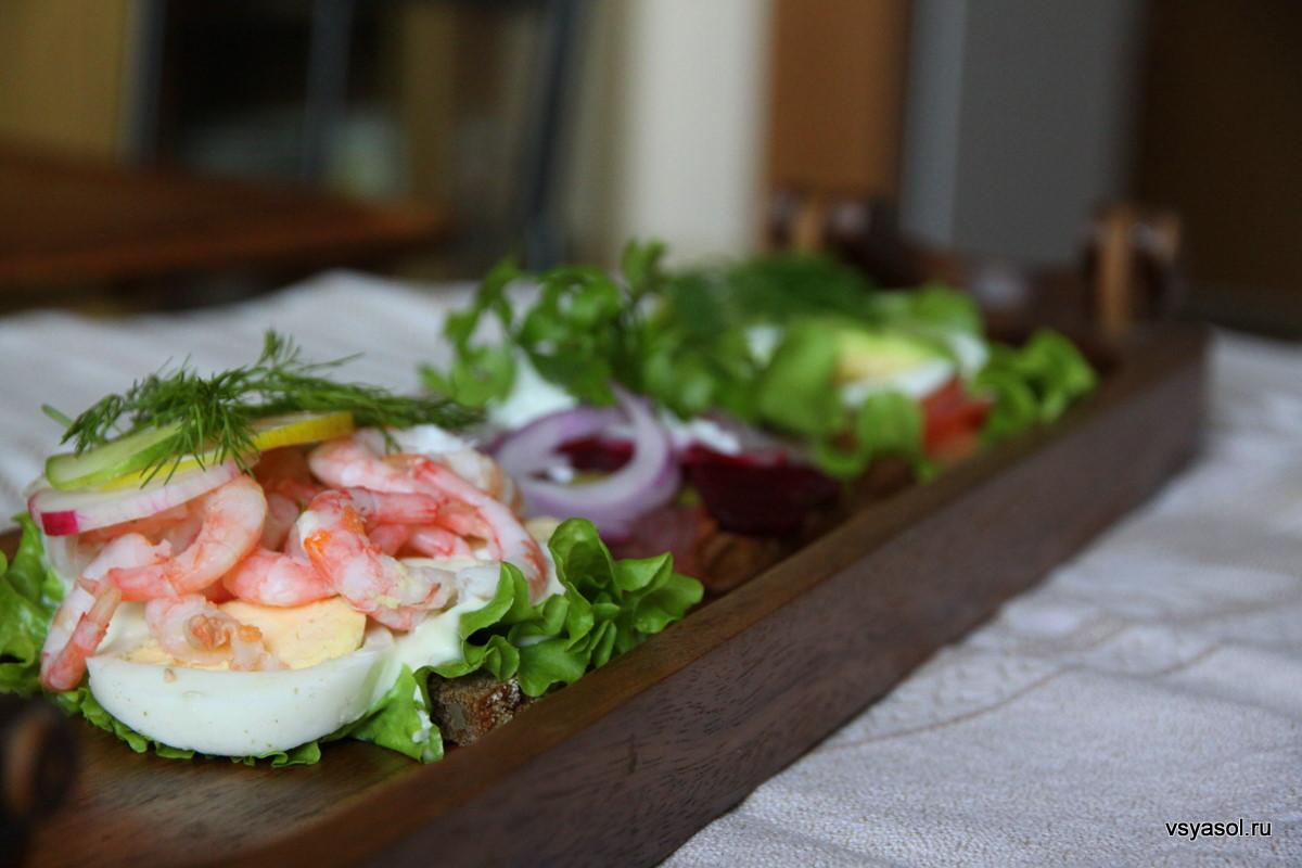 как приготовить датские бутерброды дома