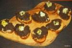 Тосты с шоколадным таренадом