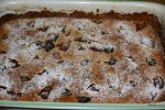 Миндальный пирог с инжиром