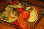 Закуска из маринованных перцев