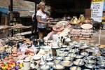 На рынке около Моста Инки в предгорьях Анд. Мендоса, Аргентина