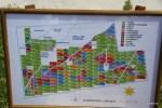 Схема виноградников Clos de los Siete, Мендоса, Аргентина