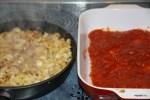 Начинка и томатный соус для голубцов