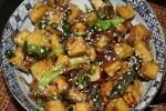 Тофу в медовом соусе