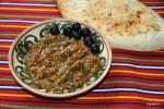 Ближневосточная закуска из баклажанов, заалук