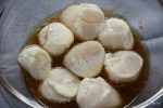 Гребешки в лимонном маринаде
