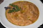 Хуммус с запеченными перцами и песто из сушеных томатов