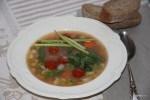 Провансальский овощной суп с соусом pistou