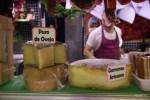 Астурия славится своими сырами. Рынок Эль Фонтан, Овьедо