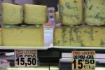 Знаменитые астурийские сыры на рынке Эль Фонтан. Овьедо