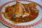 Мерлуза под сидром в ресторане Casa Ramon, Овьедо, Астурия