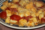 Нуди с томатным соусом и ореганом