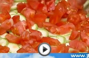 Карпаччо из молодых кабачков (видео рецепт) | Вся Соль