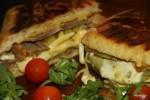 Cubano: горячий бутерброд по-кубински со свининой и сыром