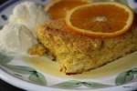 Еврейский пасхальный десерт: апельсиново-миндальное суфле