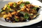 Малайзийский салат из баклажанов