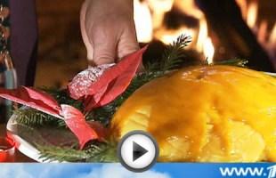 Видео рецепт новогоднего мусса из манго | Вся Соль