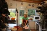 Тыква, которая с осени служила фоном для съемок программы Вся Соль на 1 канал, дождалась своего часа