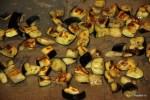 Поджаренные под грилем баклажаны