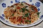 Итальянский фастфуд: спагетти с томатным соусом