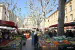 Все плоды  весеннего  Прованса на рынке в Эксе