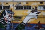 Граффити в порту Яффы