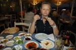Мезе в ресторане в порту Яффы