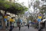 Апрель в Тель-Авиве по местным меркам холодный, но акации в цвету
