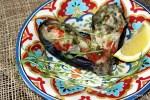 Карпаччо из баклажана