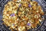 Сладкий персидский рис ширин поло с морковью и орехами