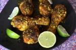 Курица с куркумой и сумахом по-персидски