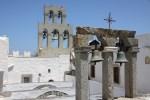 Колокольня монастыря Св. Иоанна на греческом Патмосе