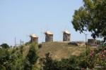 Ветряные мельницы на острове Патмос