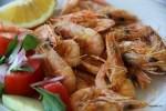 Эти креветки еще накануне плавали в Эгейском море