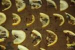 Обжаренные дольки лимона