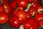 Запекаем перцы, помидоры и чеснок