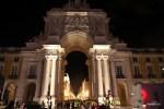 Ночной Лиссабон начинается с арки улицы Аугуста