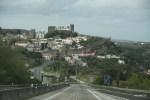 На подъезде к городу Обидуш, Португалия