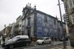 Церковь на углу улица Санта-Катарина в Порту