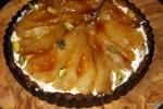 Грушевый тарт в ожидании карамели