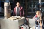 Продавец каштанов в Порту